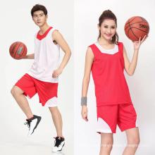 2017 tailândia unisex reversível OEM personalizado sublimação impressa basquete jersey uniforme de basquete men sportswear conjuntos