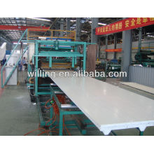 EPS sandwich sheet forming machine