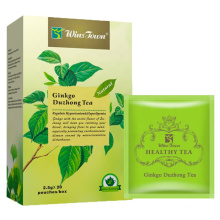 Lower blood pressure tea healthy herbs to lower blood sugar Private Lable Ginkgo duzhong tea