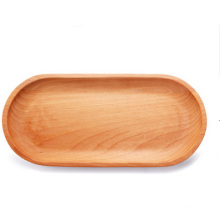 Wood Serving Tray for Bread and Fruit