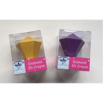 Ensemble de crayons de cire 3D diamants de haute qualité