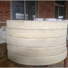 Rodillo de forro de freno tejido blanco