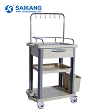 SKR019-ITT Functional Cheap Hospital ABS Medical Drug Nursing Trolley