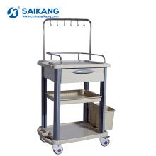 Trole médico dos cuidados da droga do ABS barato funcional do hospital de SKR019-ITT