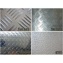 Venda quente 2124 placa quadriculada de alumínio