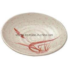 "100% Melamine Dinnerware-"" Autumn Grass Series""Round Plate (AGA49)"