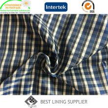 Fashion Check Muster Herrenanzug Check Futterstoff China Lieferant