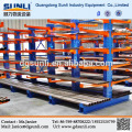 Steel Pipe Storage Double Side Cantilever Rack