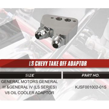 Fuel Straining Devices of LS Chevy take off adaptor