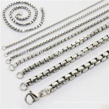 Cadena del cuerpo de la joyería de acero inoxidable collar alibaba china proveedor