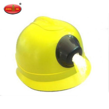 V-shape LED Coal Miner Hard Hat with Light
