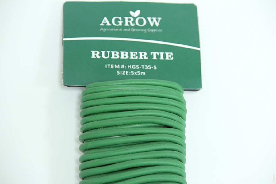 Rubber Twist tie,Garden Flexible Ties,Reusable Rubber TwistTie,Green Soft Twist Tie for Plants,Twist Tie Wire in Side,Plant Rubber Coated Wire Tie,