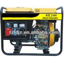 Família uso 5 KW tipo aberto gerador diesel