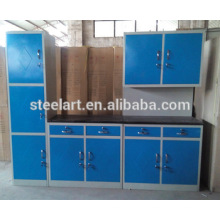 Home Storage Küche Zimmer Stahlmöbel Design Home Küche Kabinett setzt