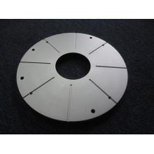 aluminum end cap CNC machining lathe parts