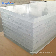 80mm 90mm 100mm Thick Cast Acrylic Plexiglass Sheets for fish tank/ aquarium/swimming pool