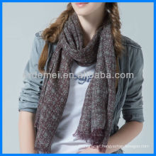 Lady floral print voile scarf manufacturer