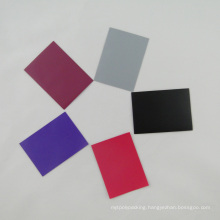 Matte Card Sleeves with Various Color