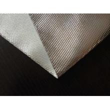 Tissu ignifuge en fibre de verre en feuille d'aluminium