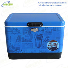 54 Liters Cooler Metal Cooler Ice Cooler