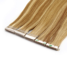 Wholesale High Quality 100% Real Human Tape Hair Extension Virgin Hair Remy Brazilian Hair