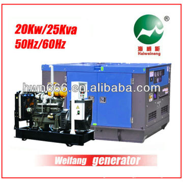 25kva Weifang Generator Powered by Weifang 4100D