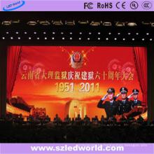 Pantalla de alto brillo LED SMD P6 LED delgada para escenario