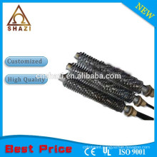 stainless steel pipe cartridge heater with fin
