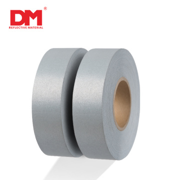 DM Gray Polyester Reflective Fabric