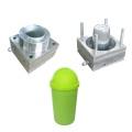 Household Indoor Plastic Dust Bin Trash Can Mold