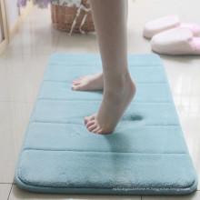 alfombra de baño del pvc del caucho de la espuma de la memoria del proveedor de China