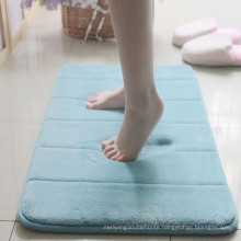 china supplier memory foam rubber pvc bath mat