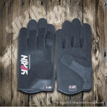 Work Glove-Synthetic Leather Glove-Safety Glove-Labor Glove-Working Glove-Industrial Glove