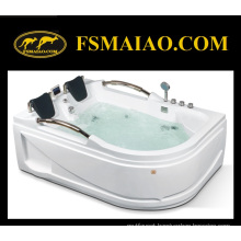 Multi-Function Retangle Two-Seats Modern Acrylic Jacuzzi Bathtub (MG-204)