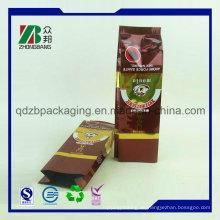 Moisture Barrier Custom bedruckte Aluminiumfolie Green Coffee Teebeutel