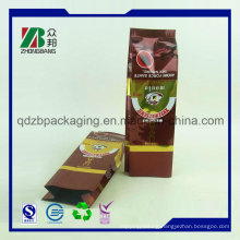 Moisture Barrier Custom Printed Aluminum Foil Green Coffee Tea Bags