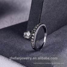 2018 Nuevo anillo de diamantes de imitación con flecos Moda Mujer Joyería