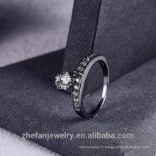 2018 nouvelle bague strass avec frange mode femmes bijoux