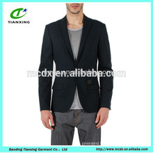 2016 black leisure mens Blazer Jackets