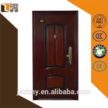 Shock proof fashionable eco-friendly steel door,steel security door design,best selling design of steel security doors