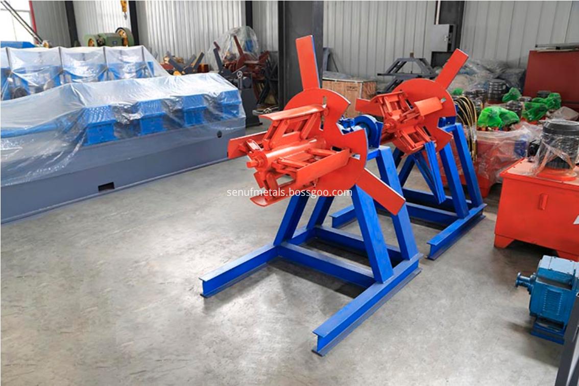 1.5 tons manual decoiler
