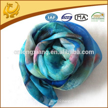 In Chin Factory Wholesale Scarf Fashion Silk And Chiffon Scarf