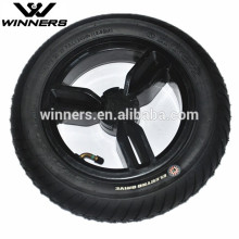 12.5''x3.0'' Baby Stroller Wide Air Rubber Wheels