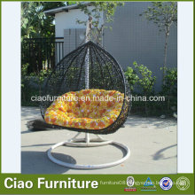 Rattan Hanging Chair Garden Hammock Outdoor Swing
