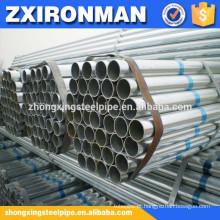 mergulhada quente tubo sem costura aço tubo/soldado aço de tubo galvanizado-cs