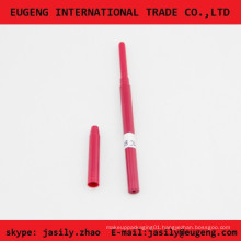 Red cosmetic pen packaging