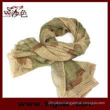 Tactical Mesh Net Camo Multi Purpose Scarf for Wargame, Sports & Other Outdoor Activities