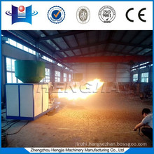 PLC system automatic wood chip industrial biomass gasifier burner