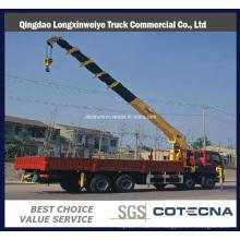 Grúa montada en camión con brazo recto HOWO 6X4 16ton (SQ16SK3Q)