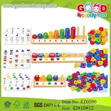 2015 Новейшее Обучение Abacus Peg Board, Учебная игра Math Board, Деревянная счетная доска